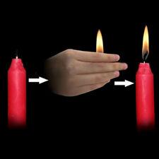 5Pcs Candle Lite Flame Movement Fire Close Up Magic Tricks Jhnius
