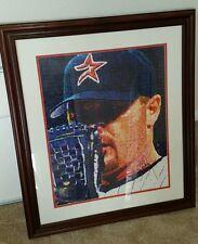 Roger Clemens hand signed framed picture Houston Astros