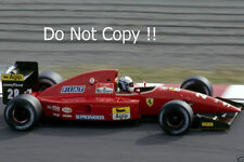Nicola Larini Ferrari F92A F1 Season 1992 Photograph