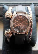 Quartz Wrist s Analog Dial Fashion Watch with 2 Bracelet Band Strap New Valletta