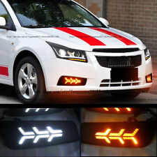 For Chevrolet Cruze 2011-2014 Front Fog Lamp Light Daytime Day Running Light DRL