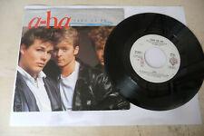 """A HA""""TAKE ON ME-DISCO 45 giri WEA Italy 1985"""