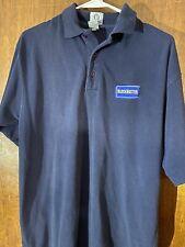 Blockbuster Video Employee Uniform Polo Shirt Size Medium Vintage 90s Authentic