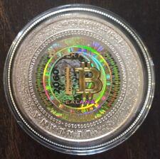 Unfunded/no digital bitcoin- LEALANA 2013 .50 series 1 GOLD Holo -like CASASCIUS