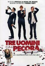 Dvd TRE UOMINI E UNA PECORA - UN MATRIMONIO DA INCUBO nuovo 2012