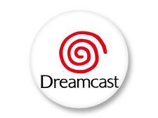 Magnet Aimant Frigo Ø38mm Logo Console Retro Gaming Dreamcast