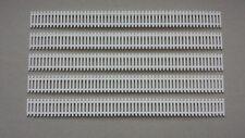 Lot 5 barrières palissades jardin potager 1/87 HO décor train diorama  maquette