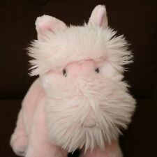 Gund Pink Schnauzer Dog Life Sinclair Breast Cancer awareness plush stuffed