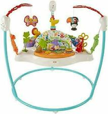 New listing Fisher-Price Animal Activity Baby Jumperoo Colorful Bouncer Toy - New