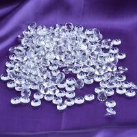 100pcs 12mm Diamond Table Confetti Decoration Wedding Party CRYSTALS