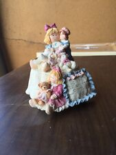 San Francisco Music Box Co Heart Tugs Musical Bear Figurine