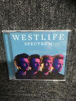 WESTLIFE - SPECTRUM [CD]  - NEW & SEALED. Freepost In Uk. Cd Album.