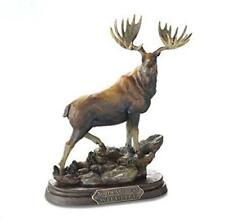 Noble Beast Moose Montana Bronze Big Sky Carvers Sculpture Marc Pierce Gallery