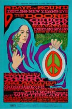 The Doors Winterland Bill Graham 1967 Concert Poster LIMITED > SHIPS FREE!