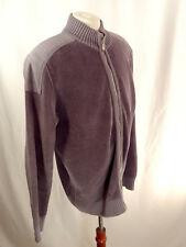 Saint James Mens sweater Jacket sz. 38 Med. zipper EUC Made in France