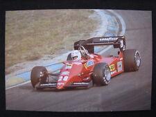 Photo Ferrari 126 C4 1984 #28 René Arnoux GP F1 Zandvoort (NL) #2