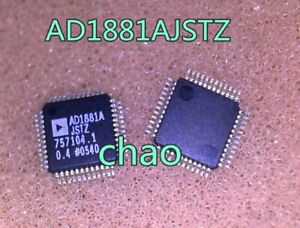 5PC AD1881AZSTZ AD1881A QFP