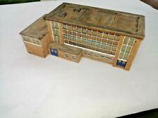 N GAUGE, Lilliput Lane L3559 Comprehensive School, Handmade in Great Britain.