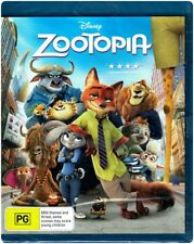 "Disney's ""ZOOTOPIA"" Blu-ray - Region Free [A,B,C] NEW"