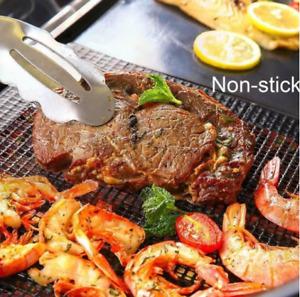 BBQ EZY Black Grill Mesh & Smoker Mat 4*4mm aperture - 480GSM NonStick