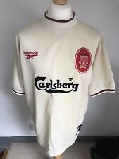 Liverpool away shirt 96-97 size large Mint condition 42/44 Reebok