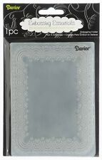 NEW Darice Doily Lace Universal Embossing Folder 1217-48