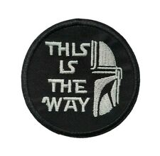 1 Écusson Thermocollant NEUF ( Patch ) - Star Wars The Mandalorian ( Ref 6 )