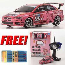 Kyosho Mini-Z MR-03S GRG LANCER EVOLUTION X RS Readyset Car w/ Free Tool Set