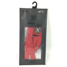 G/FORE Cabretta Scarlet Leather Golf Glove Womens Right Large USGA COMPLIANT NEW