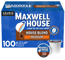 Maxwell House Medium Roast House Blend Coffee K-Cups (31 oz., 100 ct.)