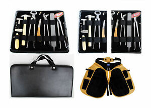 Horse Farrier Tool Equine Hoof Care Tool Kit w/ Apron 98498