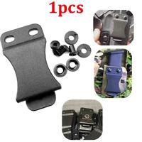Outdoor Tactical K Sheath Pocket Kydex Holster Scabbard Belt Clip Waist Clamp #J