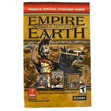 Empire Earth Gold Edition Prima's Official Strategy Guide Manual 2003