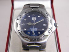 Tag Heuer KIRIUM Automatic Chronomters  Mens SS watch Good Condition