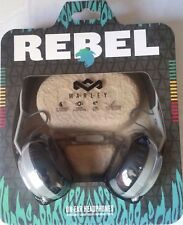 House of Marley Rebel On-Ear Wired Grey Headphones - NEW & SEALED