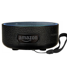 PASBUY Alexa Protective Stand Holder Wall Mount for Amazon Echo Dot 2nd Black D1