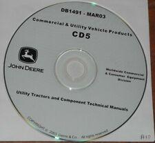 John Deere 4510 4610 4710 655 755 855 Tractor Technical Service Repair Manual