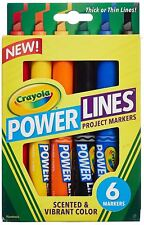 Crayola - Power Lines Scented & Colour Marker