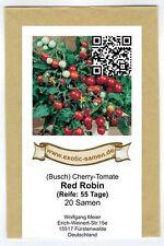 Rote Minitomate für die Fensterbank - Red Robin - köstlich süß - 20 Samen