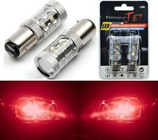 LED Light 50W 1157 Red Two Bulbs Stop Brake Replacement Upgrade Stock Tail Lamp