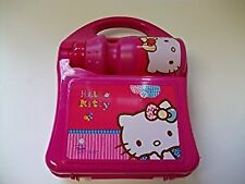 Hello Kitty: Carry-along Hardcase Lunch Box with Sport Bottle 350ml