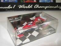 1:43 TYRRELL FORD 007 I. Scheckter 1975 1 of 1008 400750032 MINICHAMPS OVP NEW