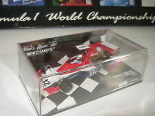 1:43 TYRRELL FORD 007 I. SCHECKTER 1975 1 of 1008 400750032 Minichamps OVP NEW