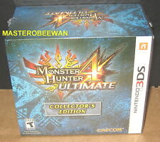 Nintendo 3DS Monster Hunter 4 Ultimate Collector's Edition New Sealed