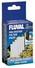 Fluval 2 Plus Polyester Polishing Filter Pad Cartridge 4 Pack A-190