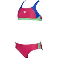 Arena Mädchen Bikini Ren Two Pieces pink/blau/grün NEU