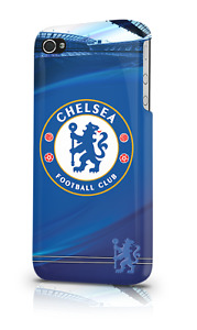 Chelsea Football Club iPhone 4 or 4S Hard Case Official Blues Merchandise New