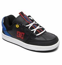 Tg 32 - Scarpe Bimbo Bambino DC Shoes Syntax Nero Blu Rosso Sneakers Schuhe