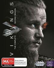 Vikings : Season 2 (DVD, 2014, 3-Disc Set)
