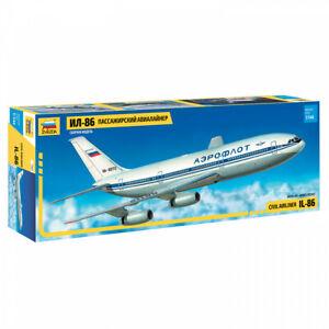 Zvezda 7001 IL-86 Ilyushin civil airliner Model Kit 1:144